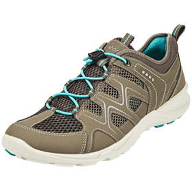 ECCO Terracruise Shoes Women Warm Grey/Dark Clay/Turquoise